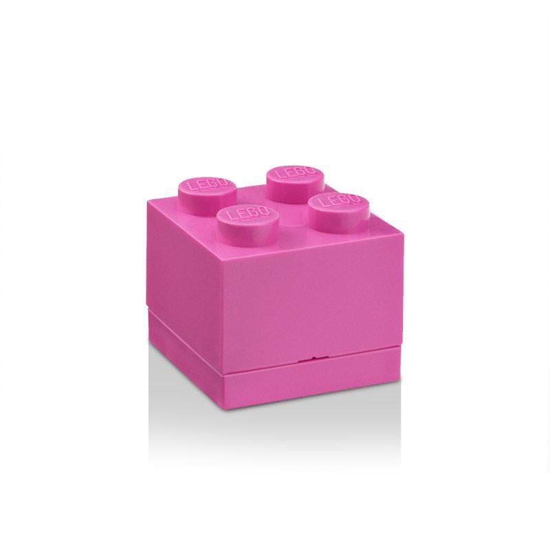 Lego Mini Förvaringslåda 4, Lila