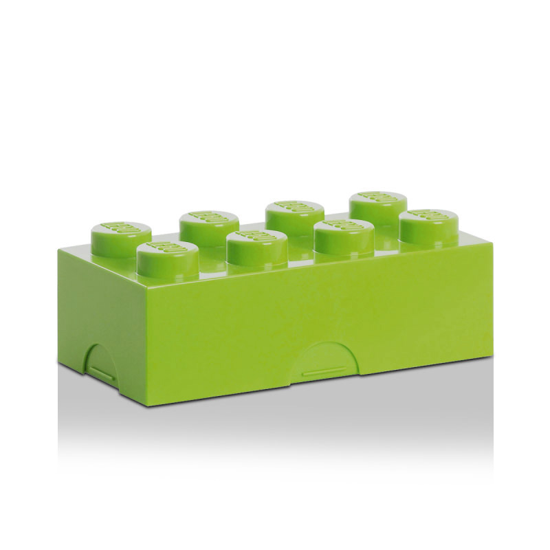 Lego Mini Förvaringslåda 8, Ljusgrön