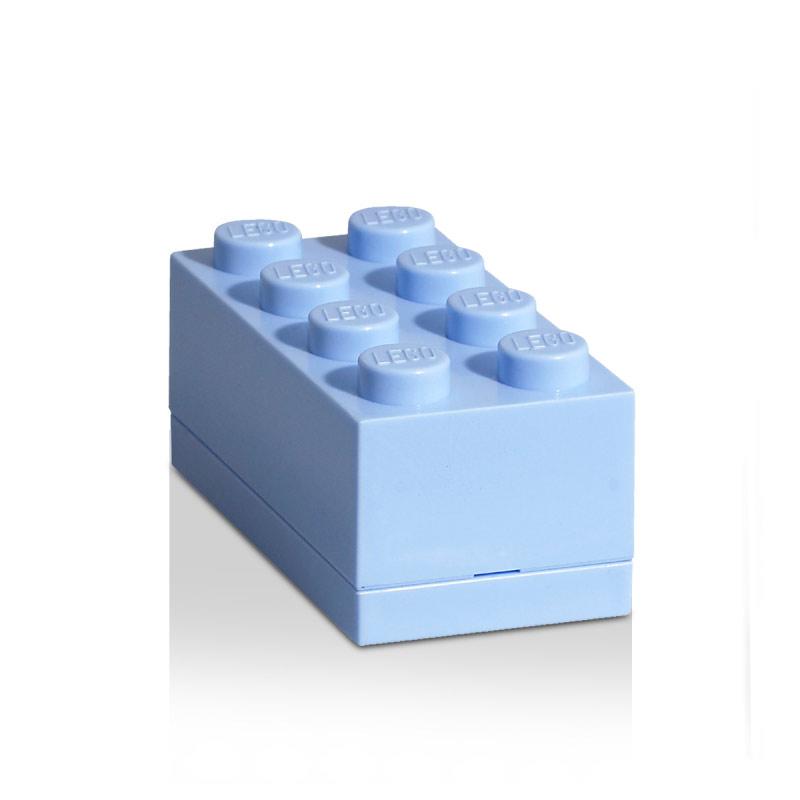 Room Copenhagen Lego Mini Förvaringslåda 8, Ljusblå