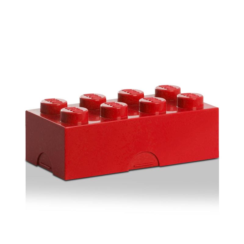 Lego Lunchbox 8 Röd