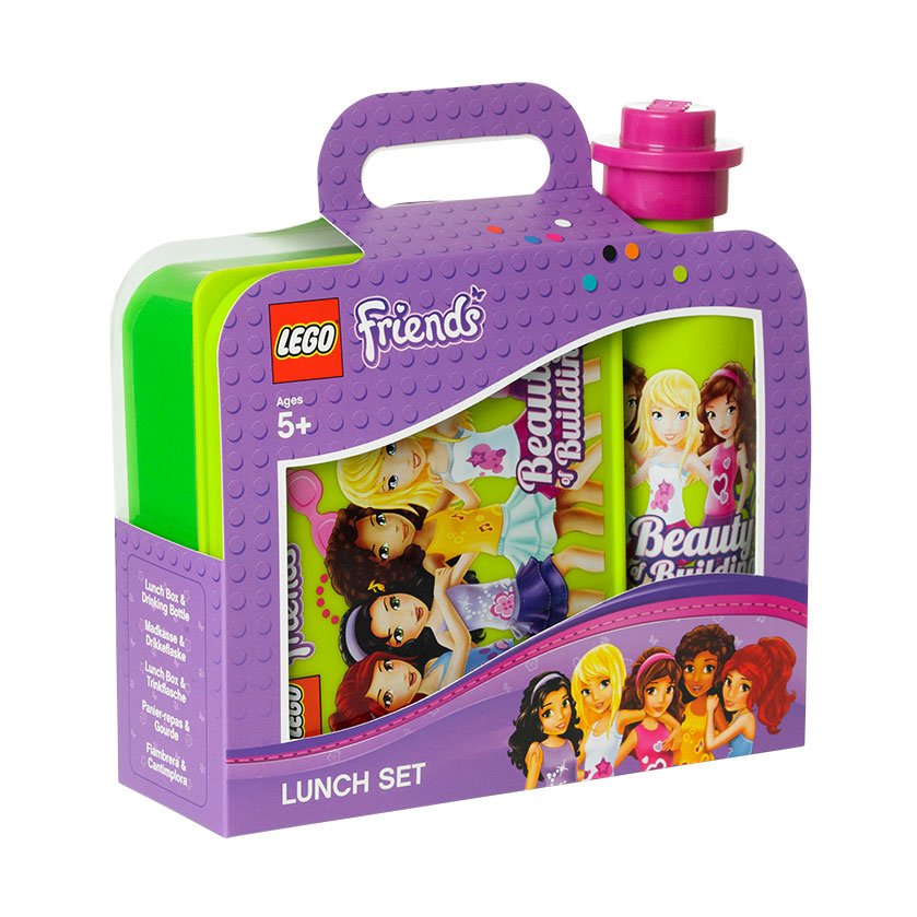 Lego Lunchlåda Set Friends Grön