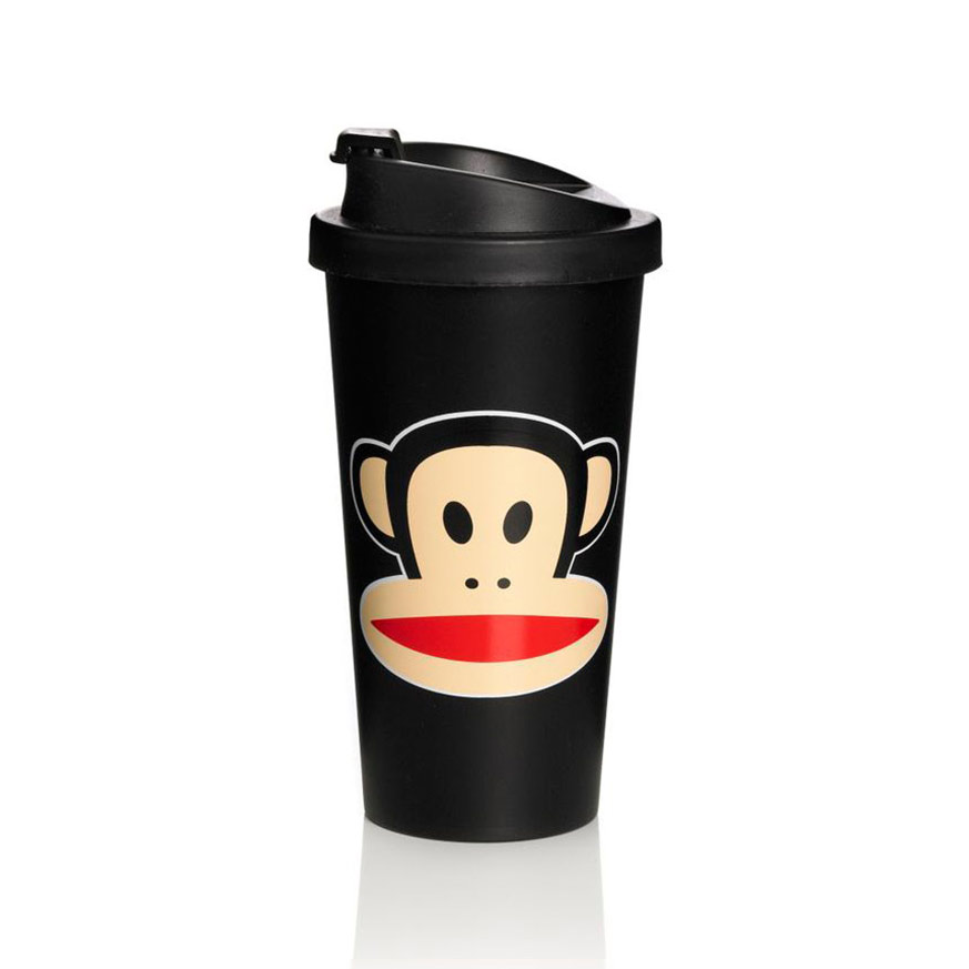 Paul Frank To Go Mugg Svart