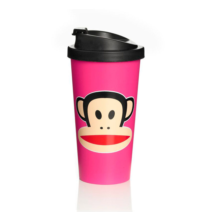 Paul Frank To Go Mugg Rosa