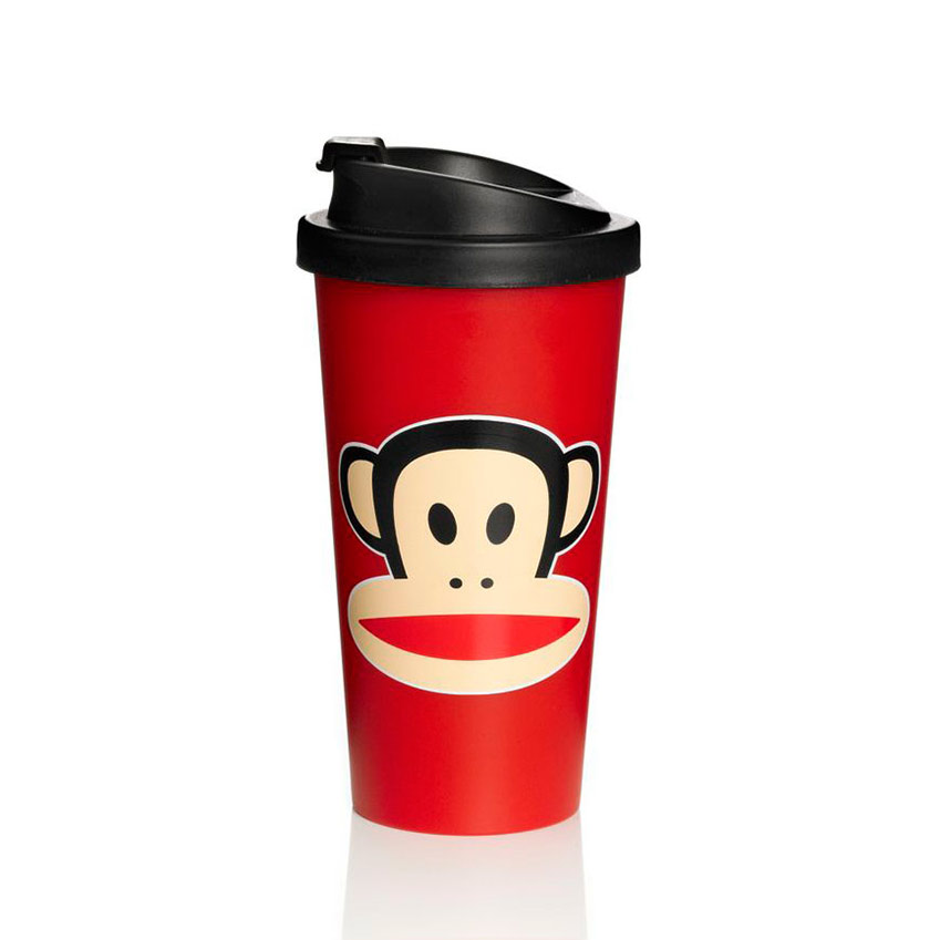 Paul Frank To Go Mugg Röd