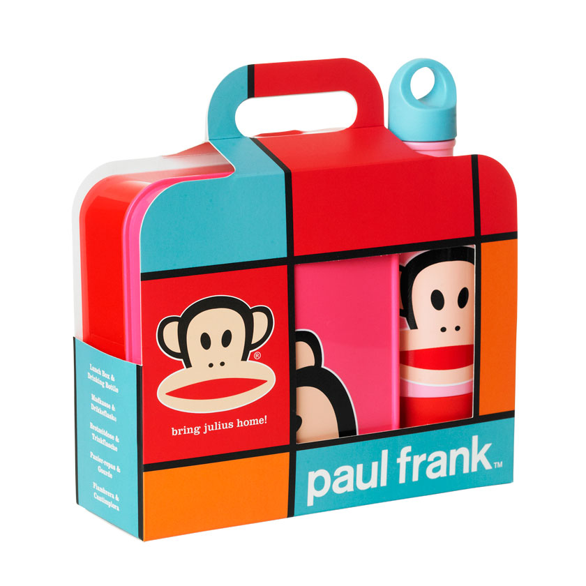 Paul Frank Lunchlåda Set Lila