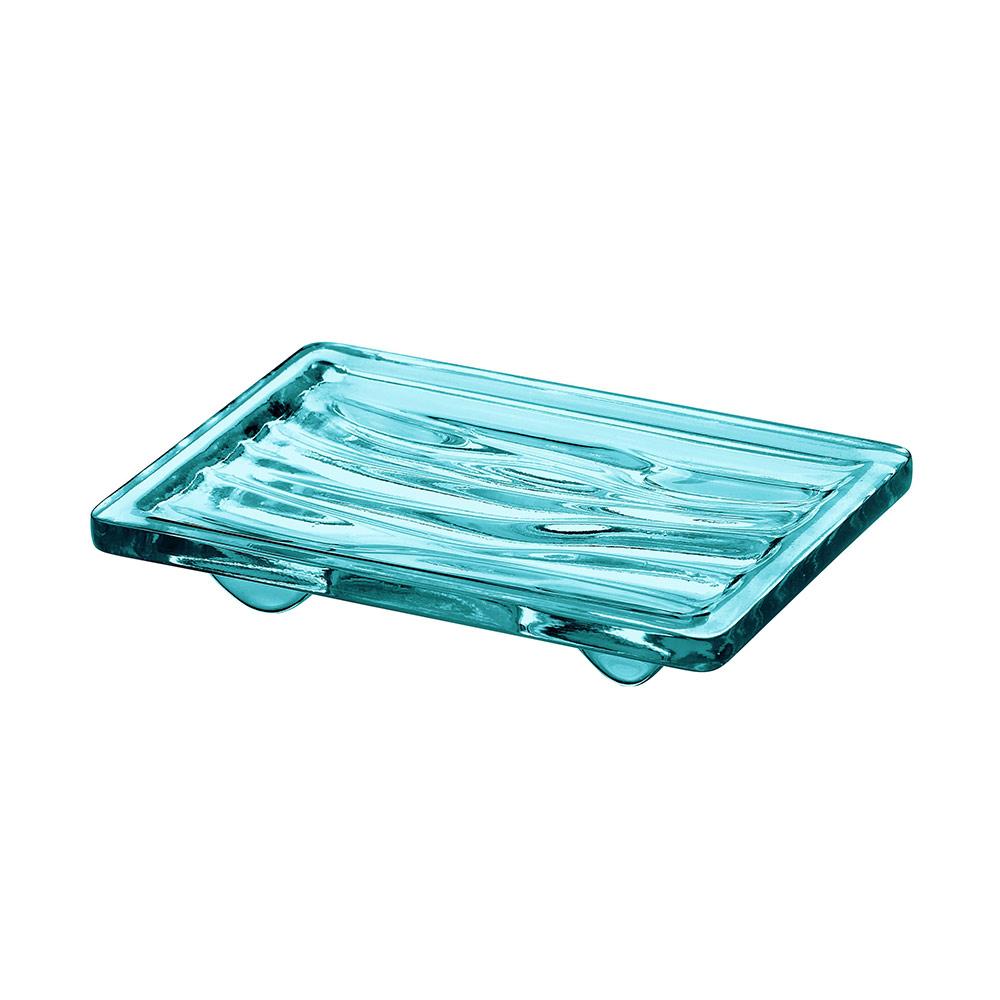 Wave Tvålkopp Blå