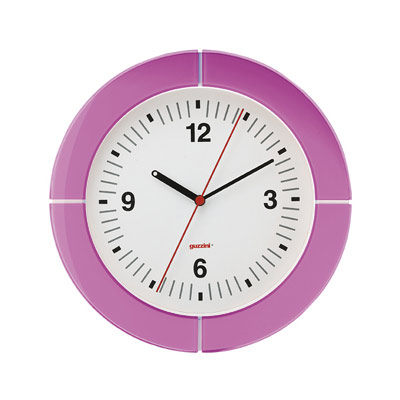 i-Clock Väggklocka Lila