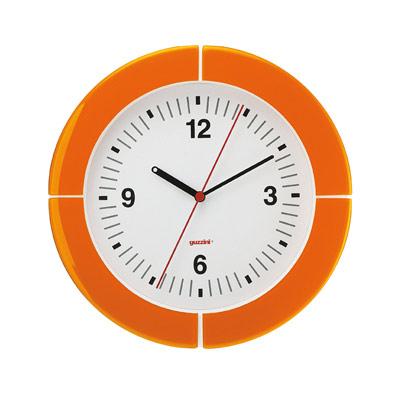 i-Clock Väggklocka Orange