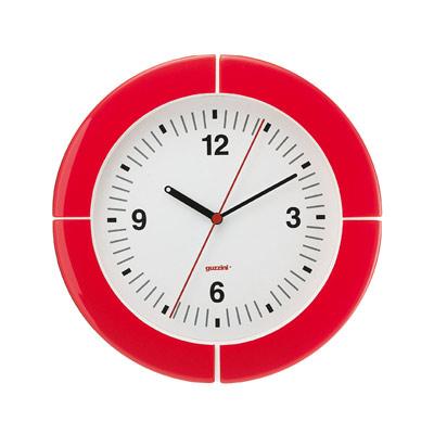 i-Clock Väggklocka Röd