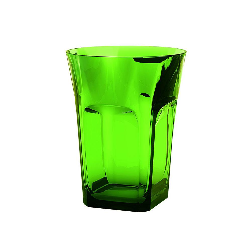 Belle Epoque Vattenglas Grön