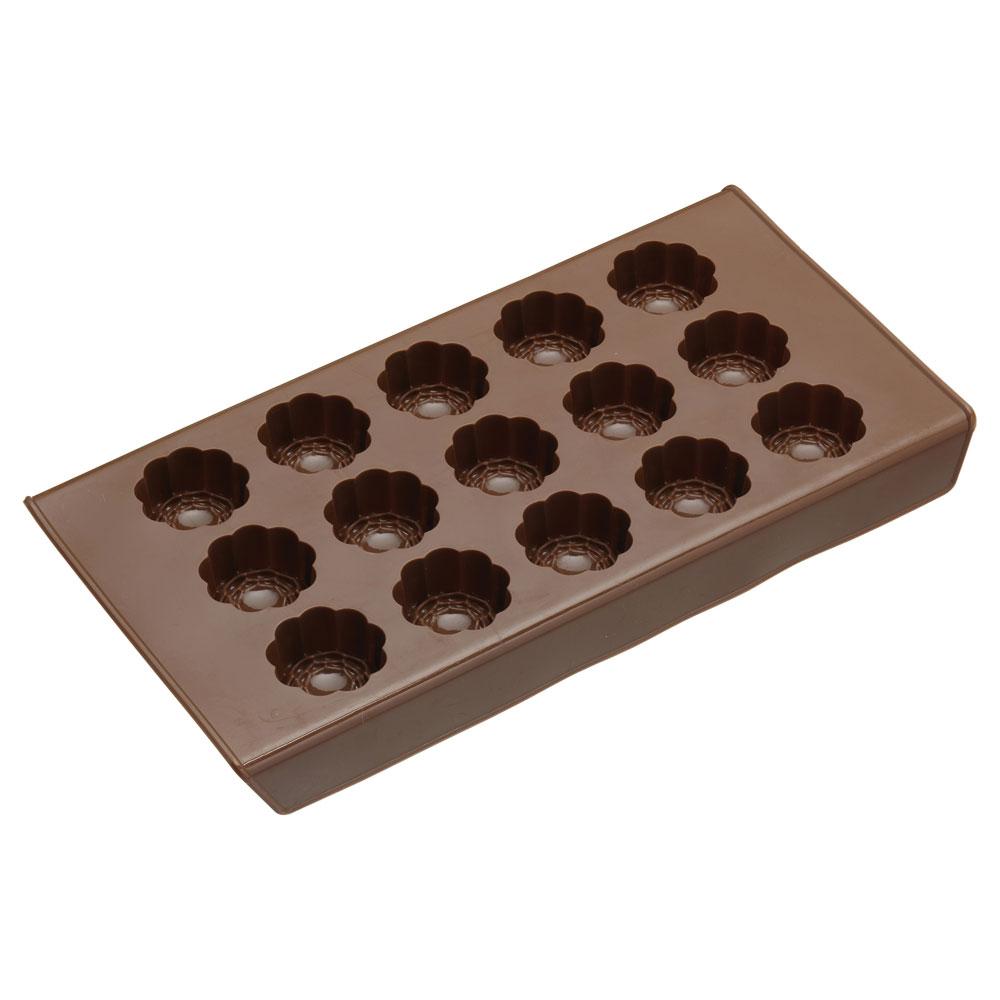 Sweetly Does It Chokladform Silikon Rosor