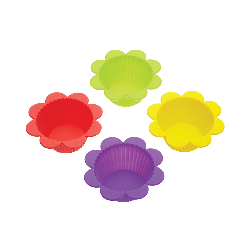Let's Make Flowers & Jelly Bakform 4-Pack