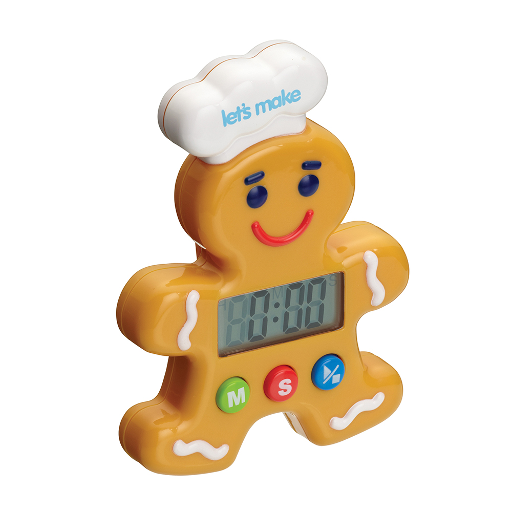 Let's Make Pepparkaksgubbe Digital Timer