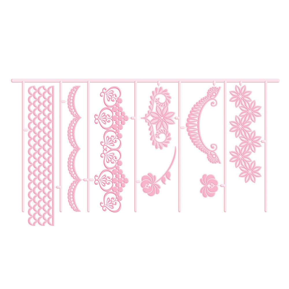 Sweetly Does It Utstickare 3D Garland