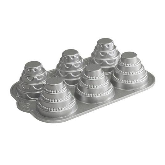 Nordic Ware Mini Tiered Cakelet Bakform