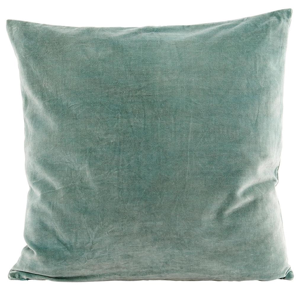 Velv Kuddfodral 50x50cm, Dusty Green