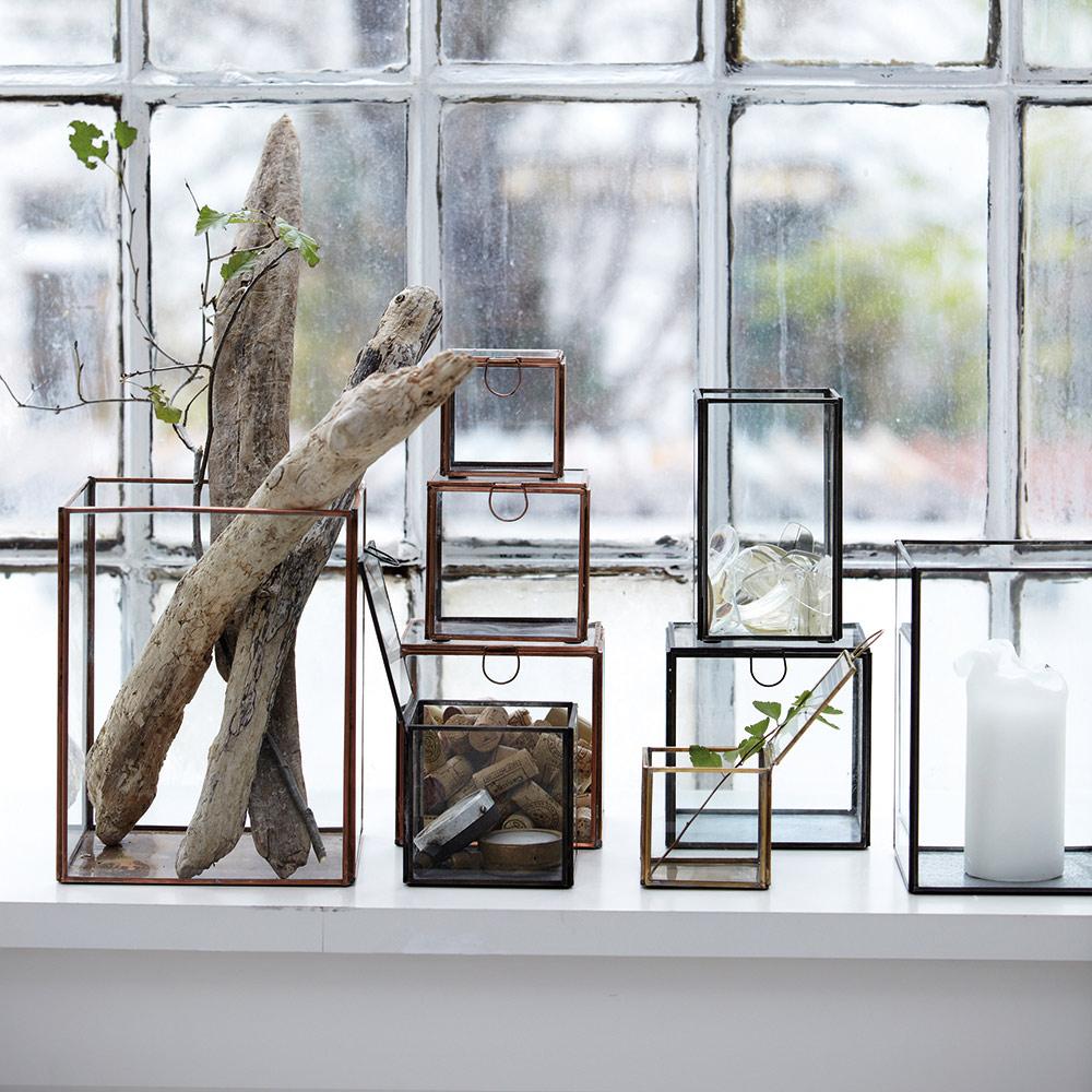 pillar ljuslykta x3 metall house doctor house doctor. Black Bedroom Furniture Sets. Home Design Ideas