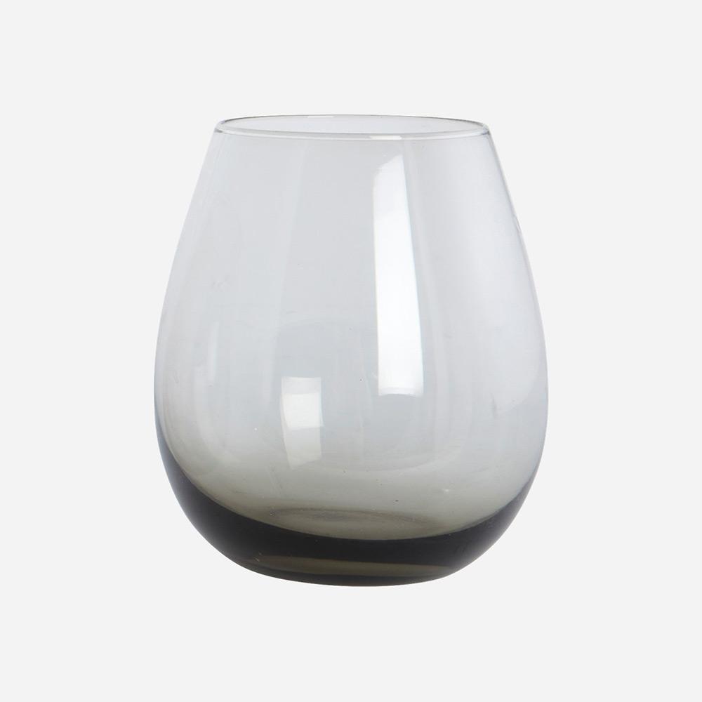 House Doctor Ball Vattenglas, Grå