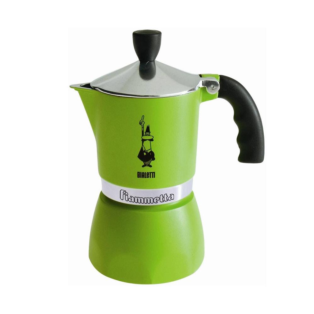 Fiammetta Espressobryggare Grön 3 Koppar