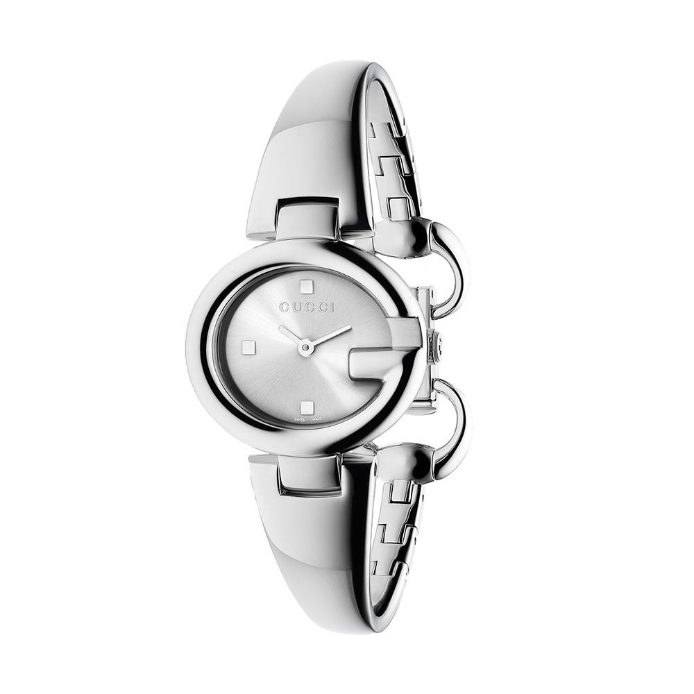 Guccissima Damklocka Stål/Silver S