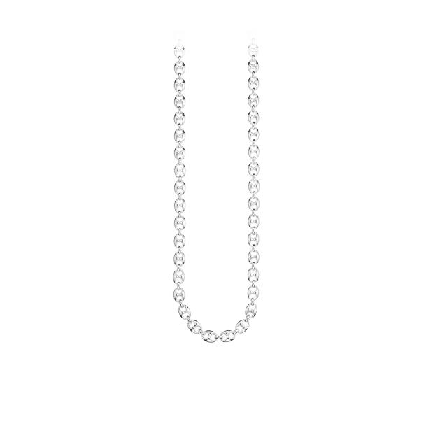 Marina Chain Smalt Halsband Silver