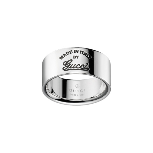 Gucci Craft Ring Silver, Small, Gucci