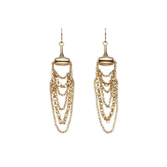 Marina Chain Örhängen med Kedjor Guld
