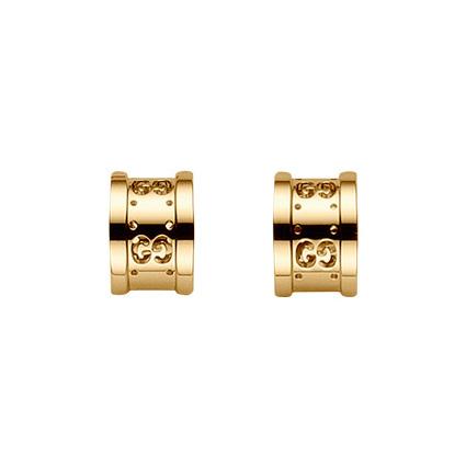 Icon Twirl Örhängen Guld