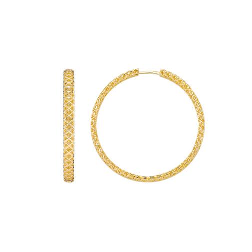 Diamantissima Örhängen Guld 50mm