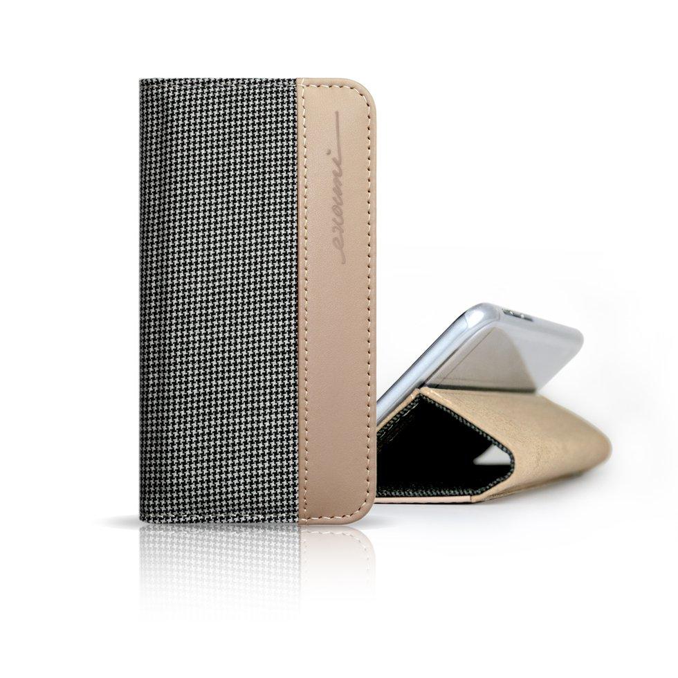 Evouni K66 Läder/Tygfodral, iPhone 6