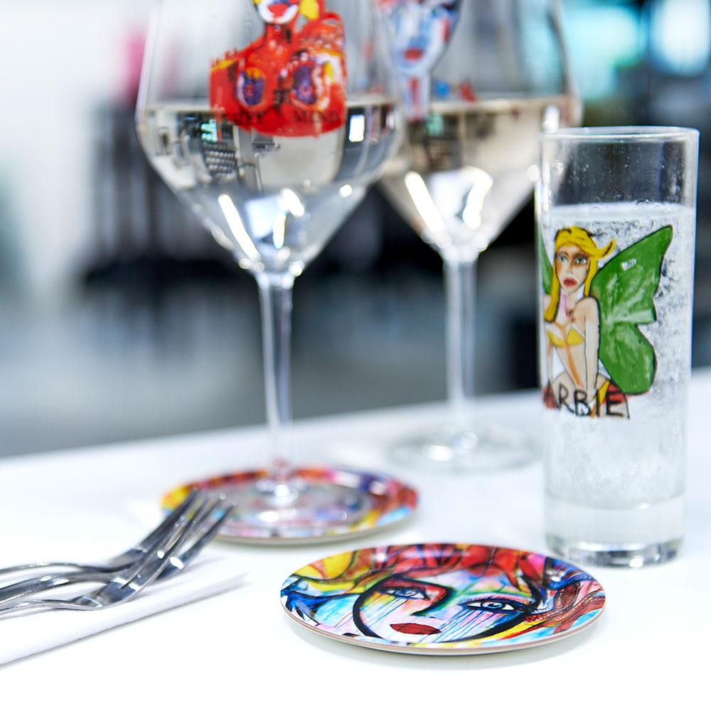 Slice of Life Glasunderlägg 4-Pack, Carolina Gynning