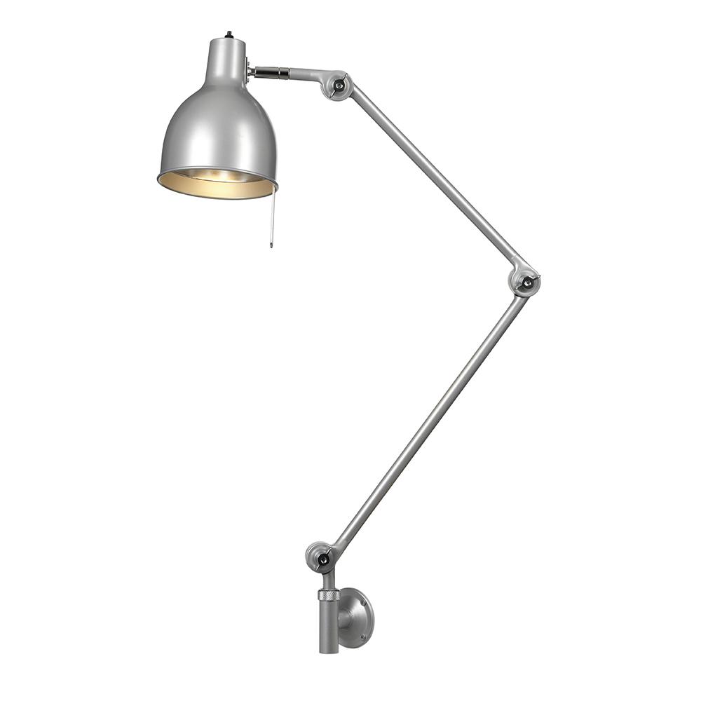 PJ70 Vägglampa (sladd) Silver