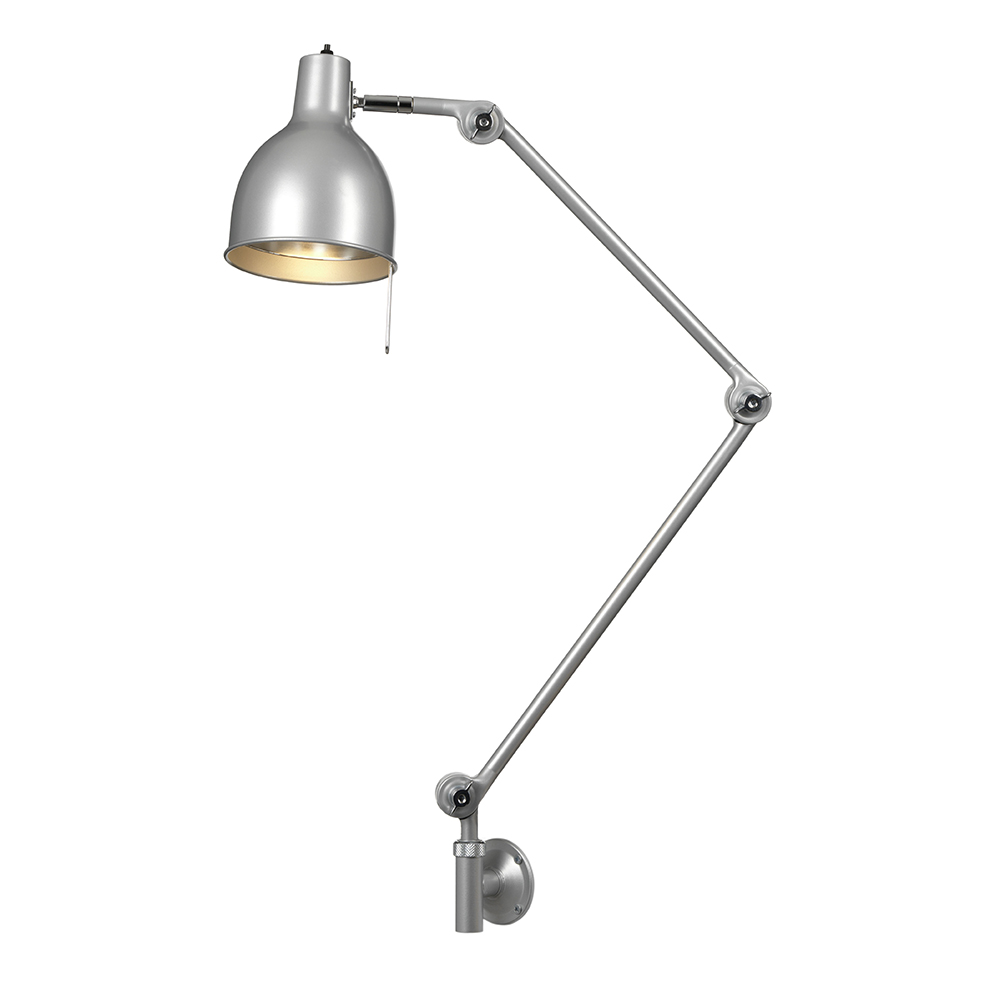 PJ70 Vägglampa (fast montage) Silver