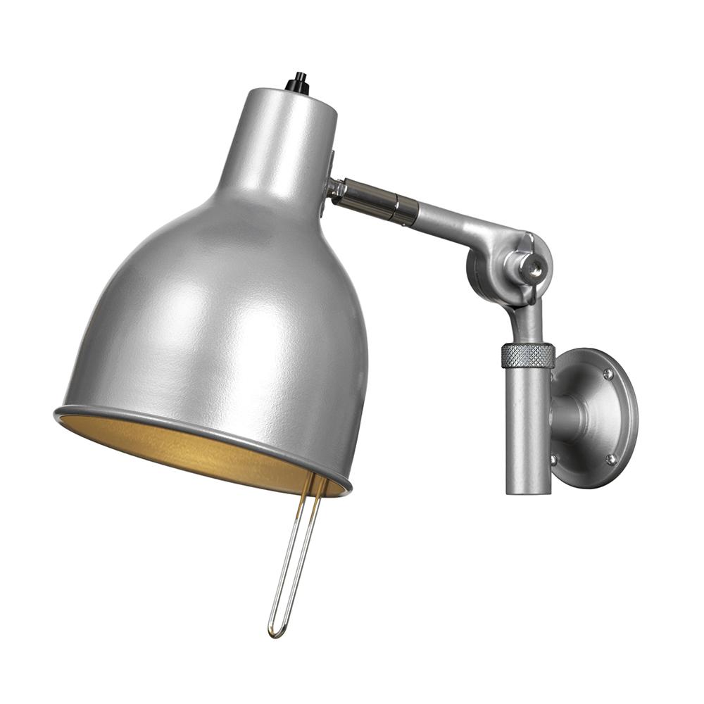 PJ71 Vägglampa (sladd) Silver