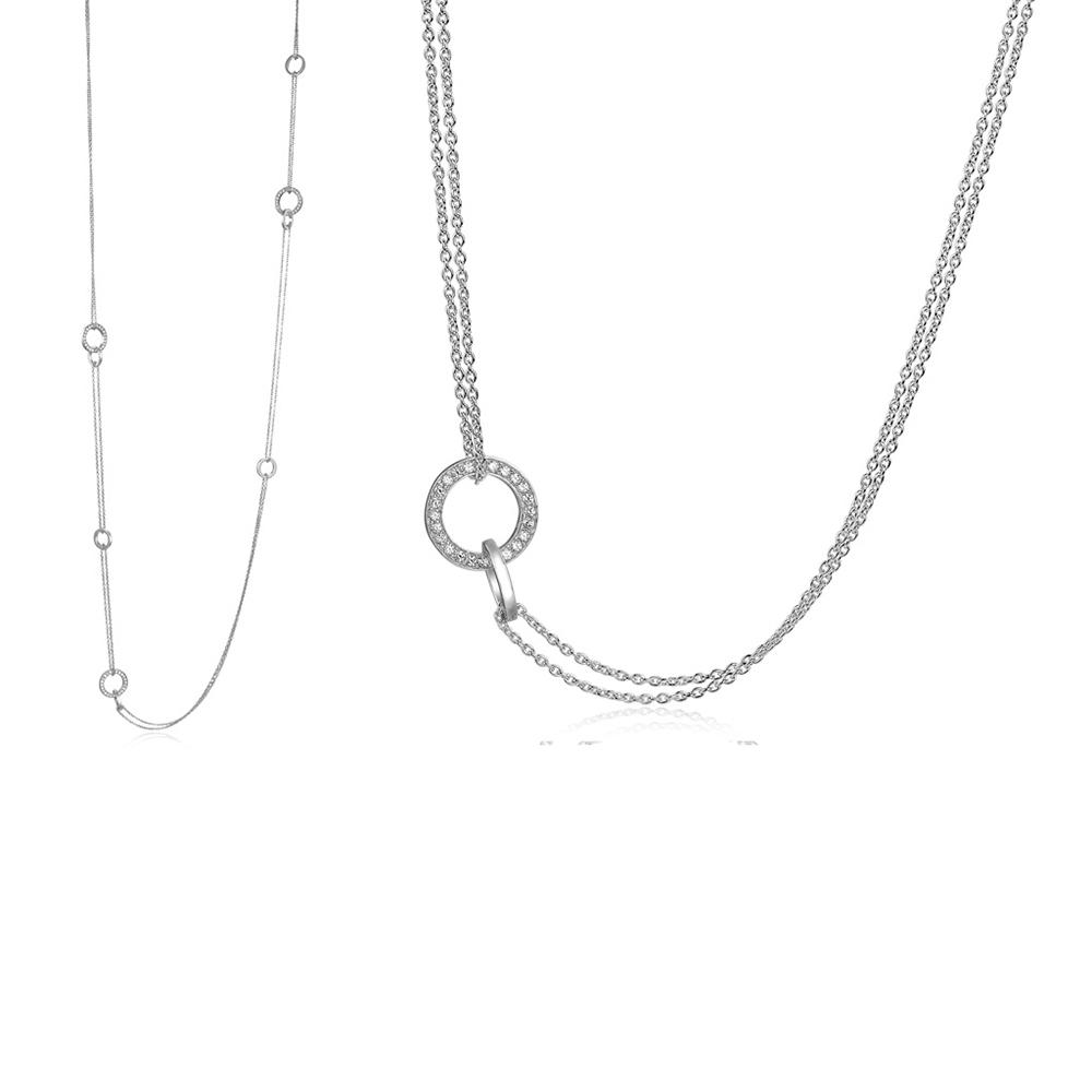 Sif Jakobs Prato Uno Halsband 420 mm