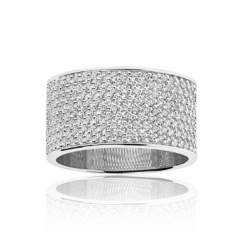 Felline Grande Ring 50, Silver
