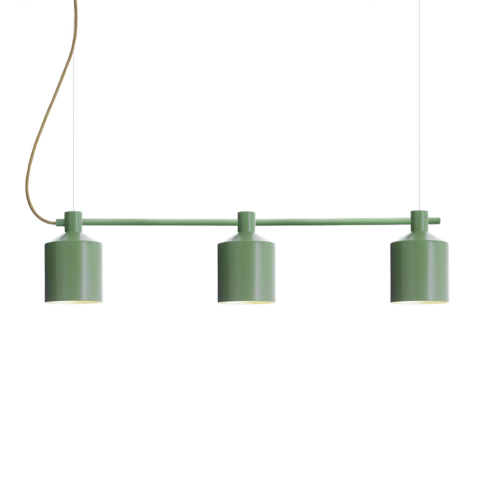 SILO Trio Pendel 15 cm, Grön, Zero