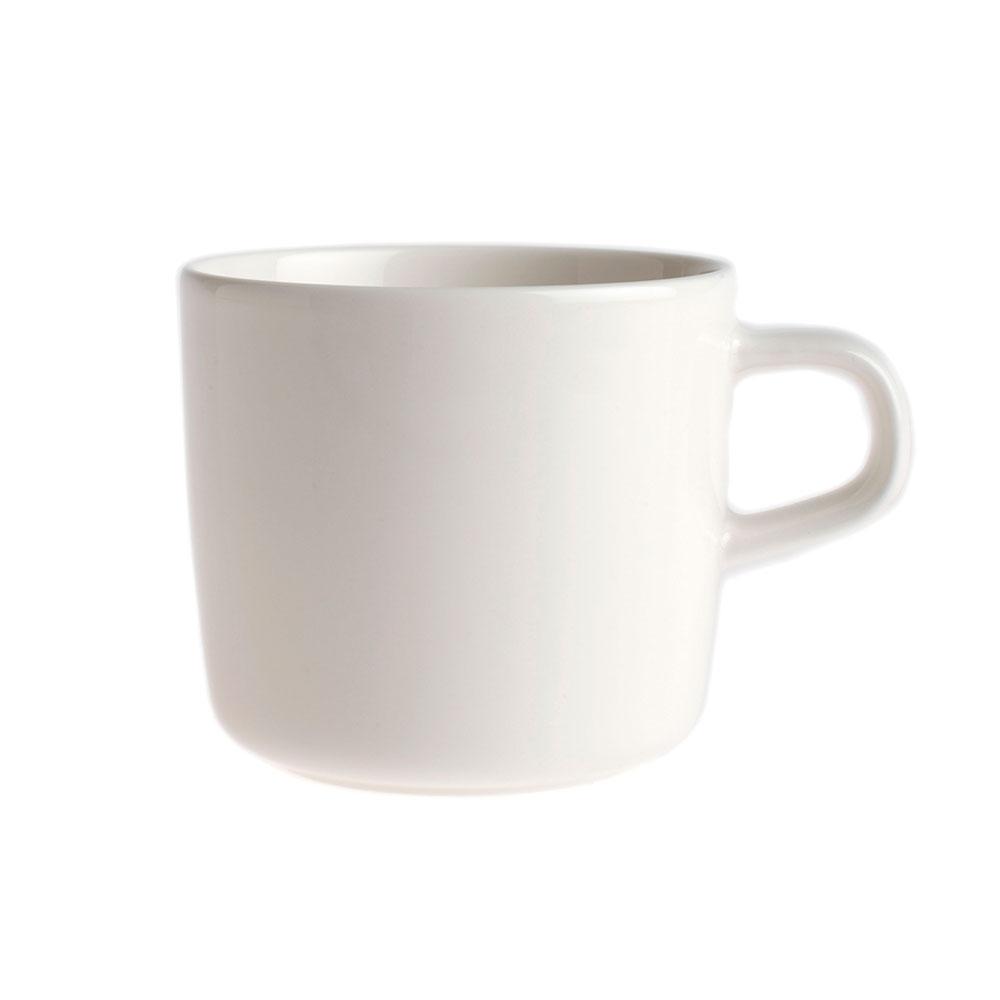 Marimekko Oiva kaffekopp 20 cl, Vit