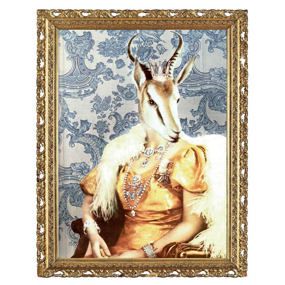 Drottning von Savannen Poster