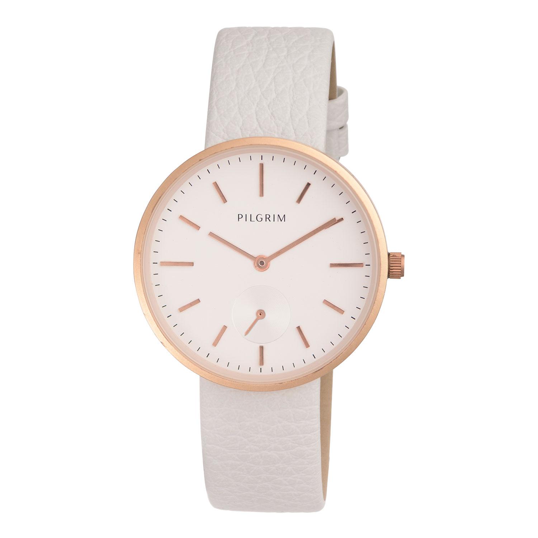 Armbandsklocka, Roséguld/Vit