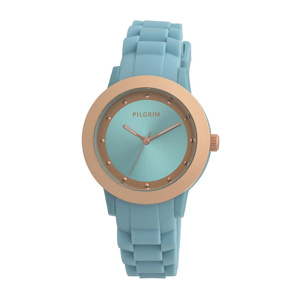 Armbandsur, Blå/ Roseguld