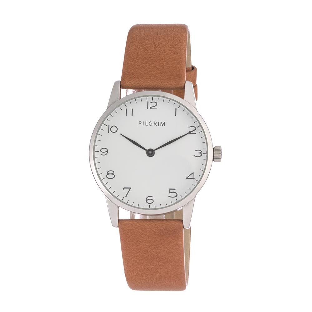 Armbandsur, Brun/ Silver