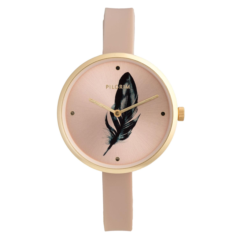 Avalon Armbandsur, Guld/Nude