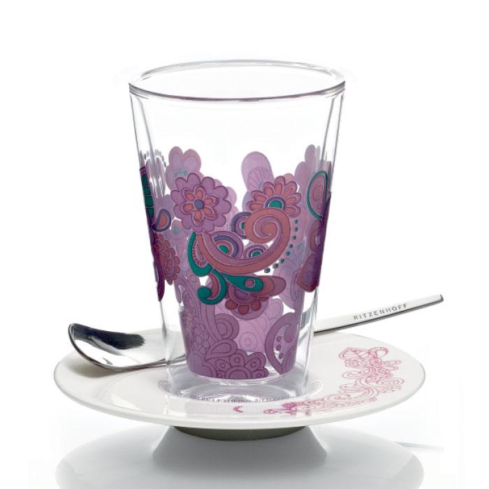 Bacione Latte Macchiato Glas Ladeiro F11