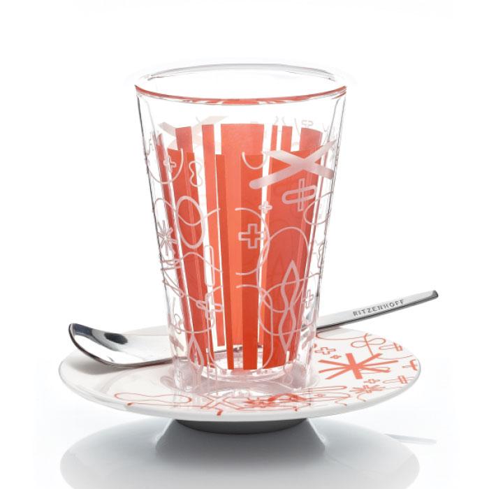 Bacione Latte Macchiato Glas Rashid F11
