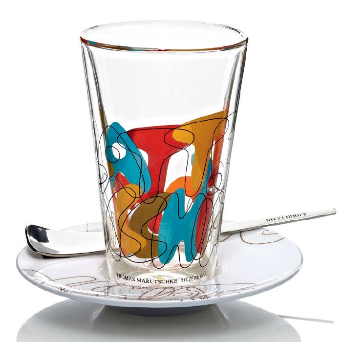 Bacione Latte Macchiato Glas Marutschke F12