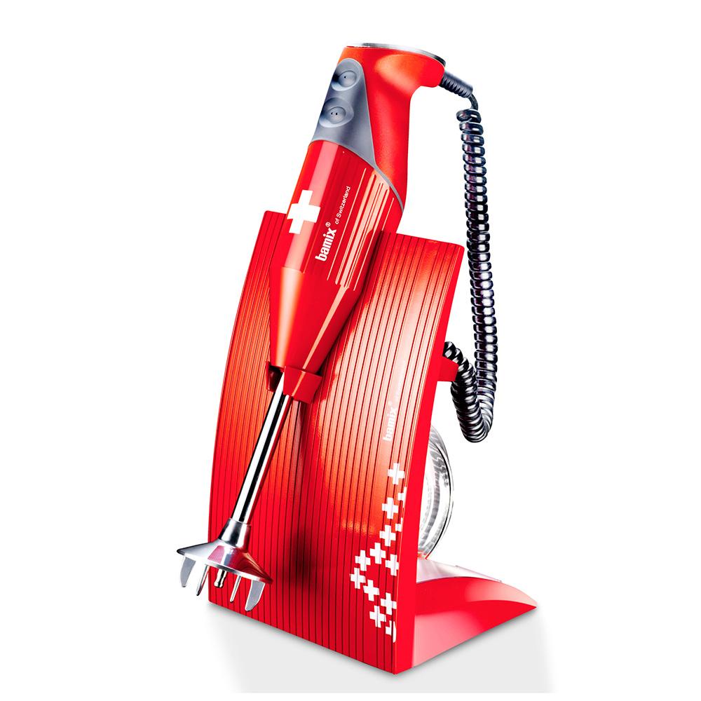 Bamix Swissline 200W Stavmixer Röd