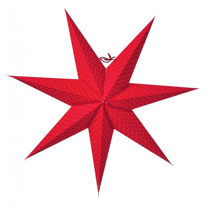 Aino Julstjärna 60cm Röd