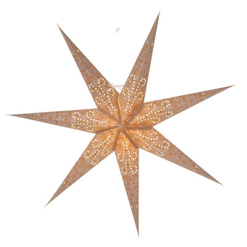 Ludwig Julstjärna 80cm Silver/Guld