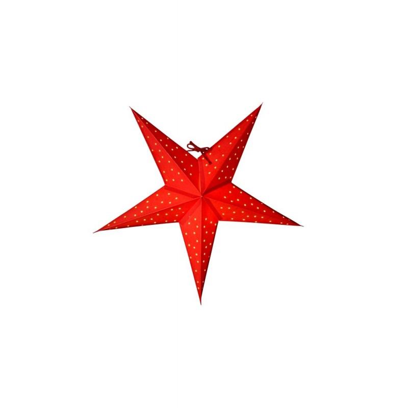 Stella Julstjärna 52cm Röd
